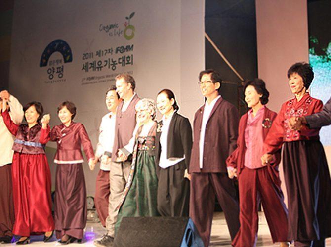 [행사협찬] 2011년 양평세계유기농대회 VIP패션쇼
