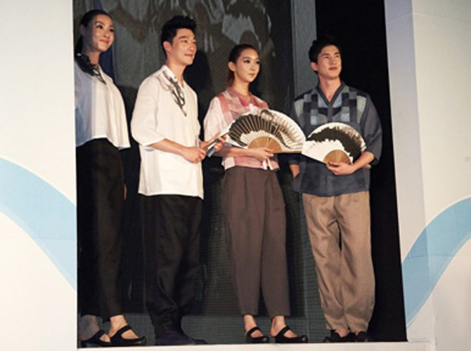 [패션쇼] 2012년 원전 하나줄이기!! 서울시 쿨비즈(Cool Biz) 패션쇼에 참여한 질경이우리옷
